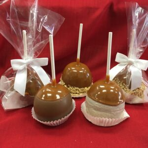 Large fancy custom caramel apple. Pickup in store only.