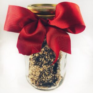 Newberry Toffee Dark Chocolate Mason Jar 10oz