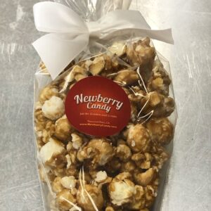 "Caramel Corn ""carrot"". 3oz with bow"