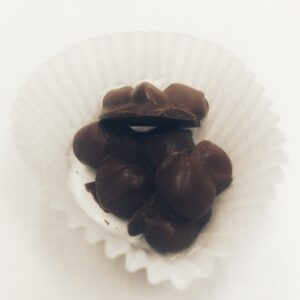 Macadamia nut clusters dark chocolate