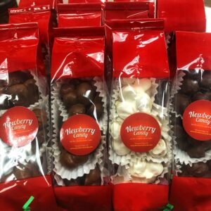 Macadamia nut clusters white chocolate 3 pack