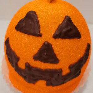 Jack O Lantern caramel apple Pickup in store or local delivery only