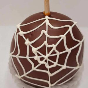 Spider web caramel apple Pickup in store or local delivery only