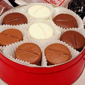 Dipped Oreos assorted tin