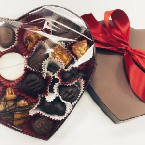 Large heart box assorted