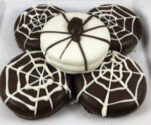 Oreo cookie 3 pack webs and spiders